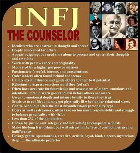 Pin by Sonya on Deep Thoughts | Infj personality, Infj