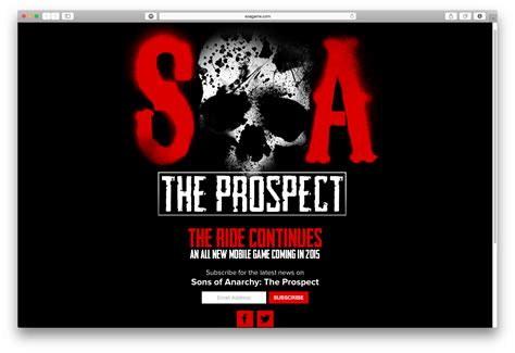 Sons of Anarchy The Prospect will be coming in 2015