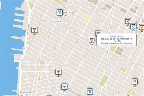 Foursquare switches to OpenStreetMap for web version