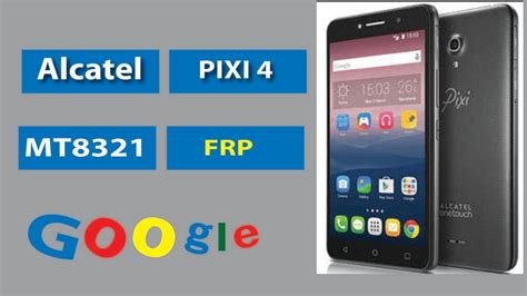 How to BYPASS frp Alcatel 9003x [PIXI 4-7 3G] mt8321 - YouTube