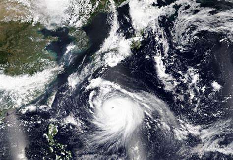 Typhoon Haishen approaches Japan packing powerful winds