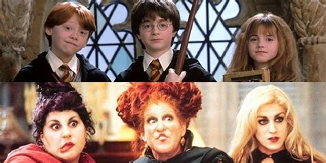 """Ten Times """"Harry Potter"""" and """"Hocus Pocus"""" Were Basically"""