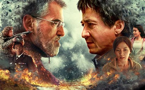 Download wallpapers The Foreigner, 2017, Jackie Chan