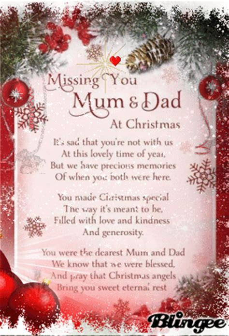 MISSING MOM AND DAD AT CHRISTMAS Picture #131509982