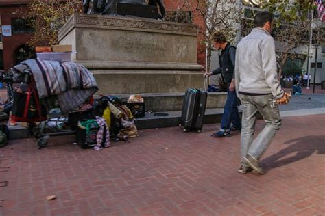 Many homeless people around Union Square