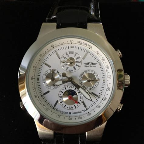Wagner Flieger German made calendar day and night