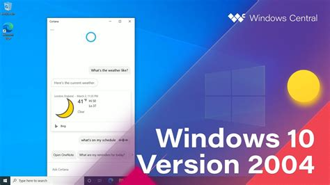 Windows 10 April 2020 Update - Official Release Demo