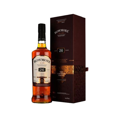 Whisky Bowmore Vintners Trilogy 26 Y