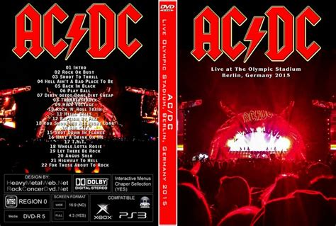 AC/DC Live at The Olympic Stadium, Berlin, Germany 2015 DVD