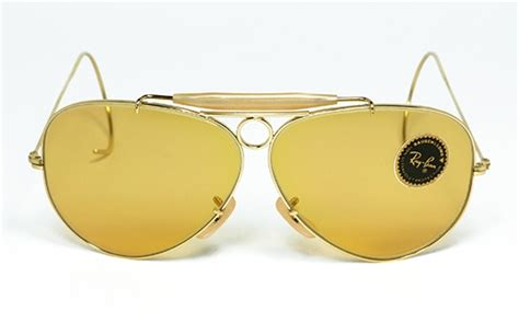 Luxury vintage Sunglasses - Details of ray-ban-shooter