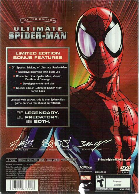 Ultimate Spider-Man (Limited Edition) (2005) PlayStation 2