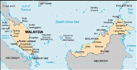 Map - Malaysia | Centre for Intercultural Learning