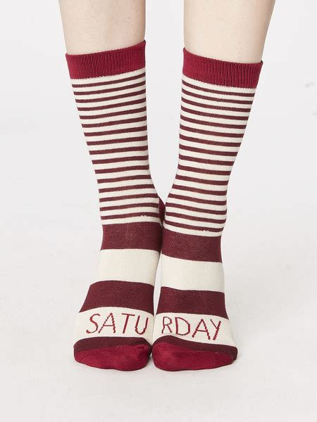 Thought - GIFT BOX WEEK DAY SOCKS   Avocadostore